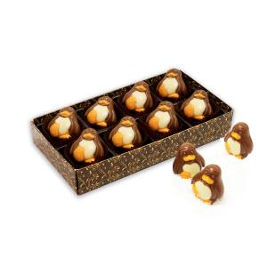 Belgian Chocolate Penguins