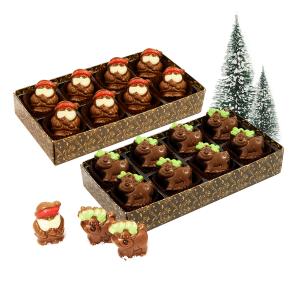 Chocolate Santas & Reindeers