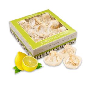 Soft Lemon Amaretti Biscuits