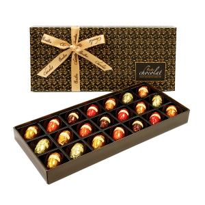 Liqueurs in Dark Belgian Chocolates