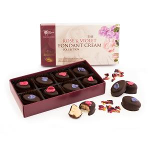 RHS Rose & Violet Fondant Creams